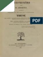 1840 Sobre o Aborto