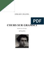Gérard Granel-Cours sur Gramsci-1973-1974.