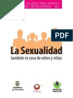 GUIA TALLERES AGENTES La sexualidad tambien es cosa de niños y niñas