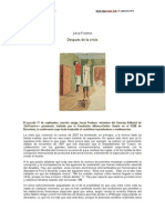 Josep Fontana-Después de la crisis-2013
