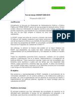 Plan Proyeccion 2010