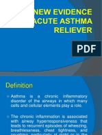 New Evidence in Acute Asthma Treatment