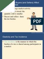4 Elasticity & Impact of Tax