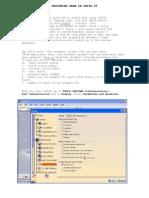 Parametric Designing Gear in Catia v5