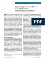 Understanding Logistic Regression Analysis in Clinical Reports- An Introduction-JTS