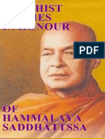 45812845 Buddhist Studies in Honour of Hammalava Saddhatissa