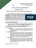 Edital  Professor Temporário RP pdf