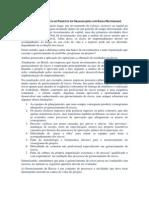 Gerenciamento de Riscos de Projetos em Organizações com Baixa Maturidade