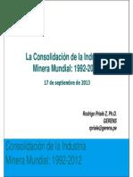 Consolidación de la Minería Mundial