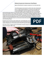 Audi Allroad Compressor Strip & Repair How To