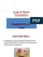 LSD Hallucinogens