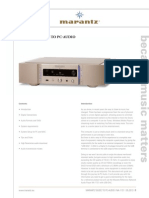 Marantz Whitepaper PC-Audio NA-11S1
