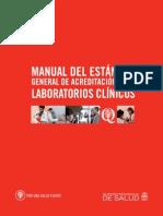 MANUAL LABORATORIOS CLÍNICOS