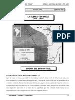 III BIM - HP - 5TO AÑO - Guia 8 - La Guerra con Chile (1879-
