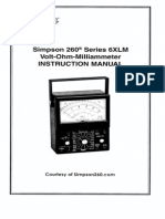 Simpson 260-6xlm User Manual