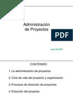 Admon de Proyectos