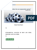 Fundamental Analysis of Iron and Steel Industry and Tata Steel (Indiabulls) ...