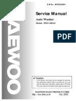 Dwf-200as Service Manual