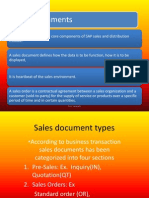 Sales Documents