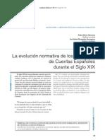 MIRÓN MURCIANO, Pedro et al. La evolución normativa de los Tribunales de Cuentas Españoles.
