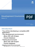 ILP J2EE Stream J2EE 02 Work Environment V0.1