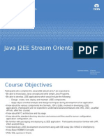 ILP J2EE Stream Orientation