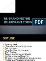 Re-branding the Quardrant Company