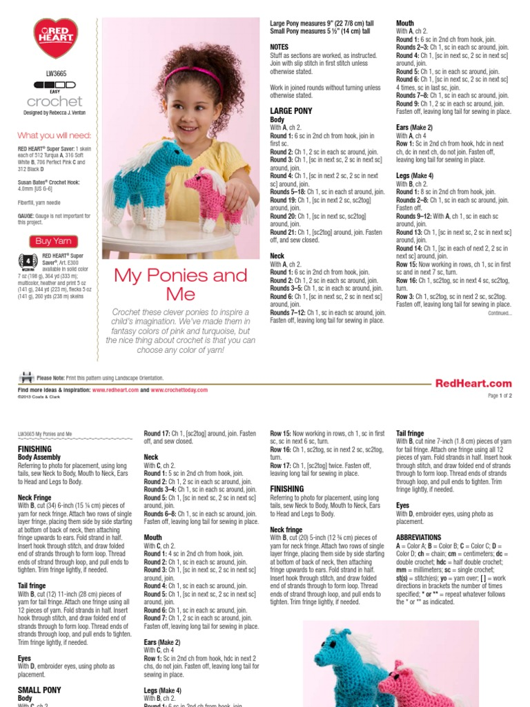 LW3665 | Crochet | Yarn