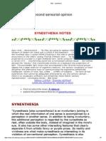 A&O - Synesthesia