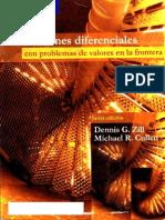 Ecuaciones Diferenciales con problemas de valores en la frontera Zill 6a Edición