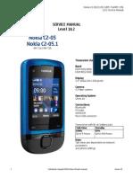 Nokia C2-05 RM-724 725 Service Manual