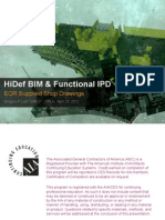 HiDef BIM and SEOR Supplied Shop Drawings