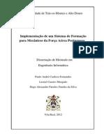 Implementação de um Sistema de Formação para Mecânicos da Força Aérea Portuguesa