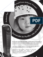 Maier Germicidal Air Purifier UV