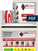"GateGurus - A pioneer institution for ""GATE"" and PSUs Coaching"