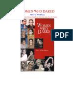 Books_Women Who Dared_Ritu Menon