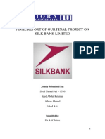 Final Pom Project Report on Silk Bank by Titanic Group