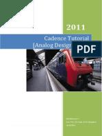 Cadence Tutorial_Analog Design Flow