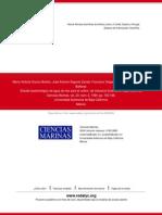 Estudio bacteriológico de agua de mar para el cultivo  de moluscos bivalvos en Baja California (1)