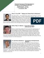 Cebu Speakers 2009