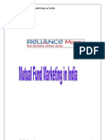 Mutual Fund Marketing in India