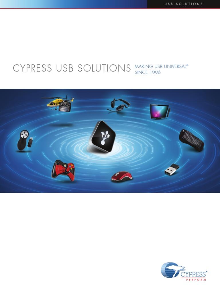 Cypress_USB_Solutions_Brochure pdf | Usb | Secure Digital