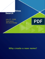 AOL powerpoint on how they came up with name for new FullView search
