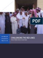 HRW report on Saudi activists inside Saudi Arabia resisting government efforts to silence them.
