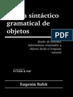 Teoria Sintacticogramatical de Objetos