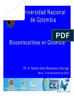 Bio Combustibles Colombia