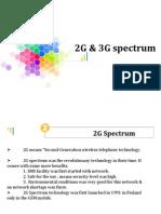 2G,3G Spectrum