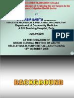 Abuth Mdg Presentation