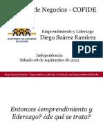 Diego Suarez Emprendimiento y Liderazgo