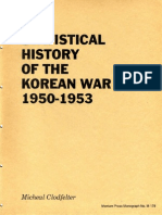 A Statistical History of the Korean War 1950-1953